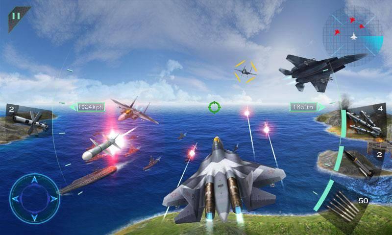 Sky Fighters 3D截图3