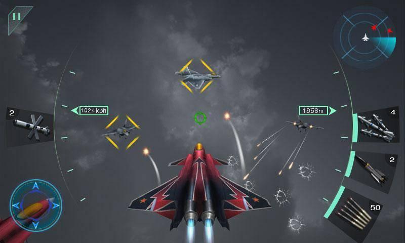 Sky Fighters 3D截图4