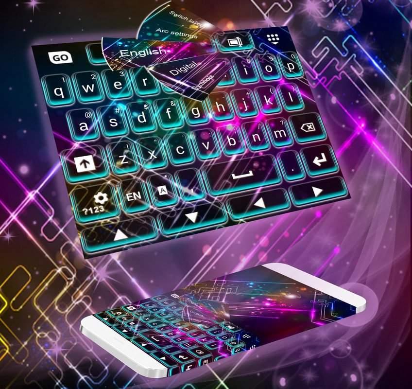 键盘和颜色