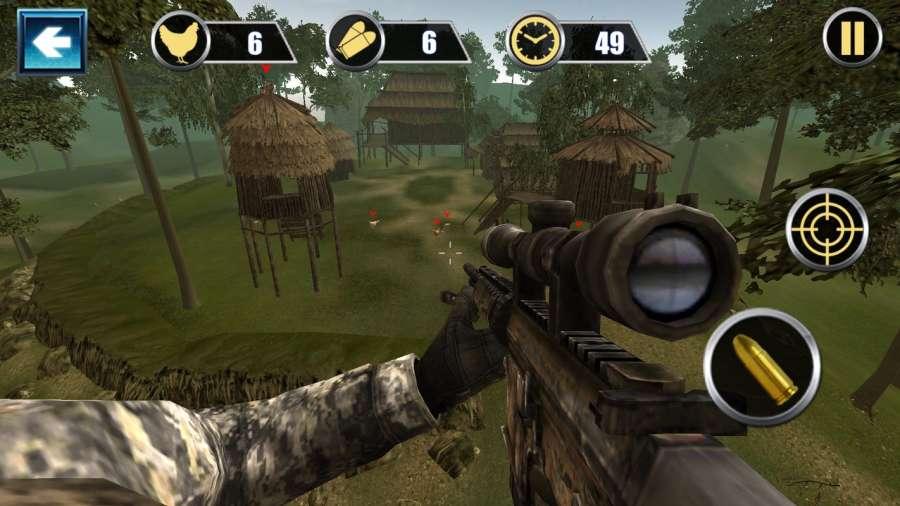 雞肉射擊II狙擊手