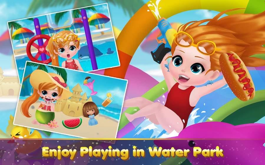 水上公园避暑游玩水上游戏截图0