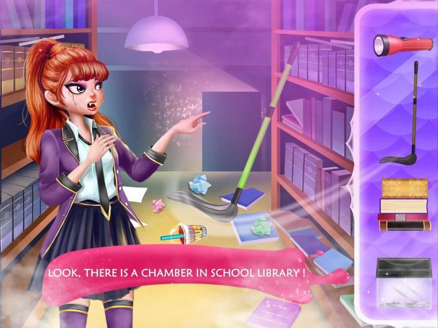 隐秘校园6-图书馆的神秘人截图1