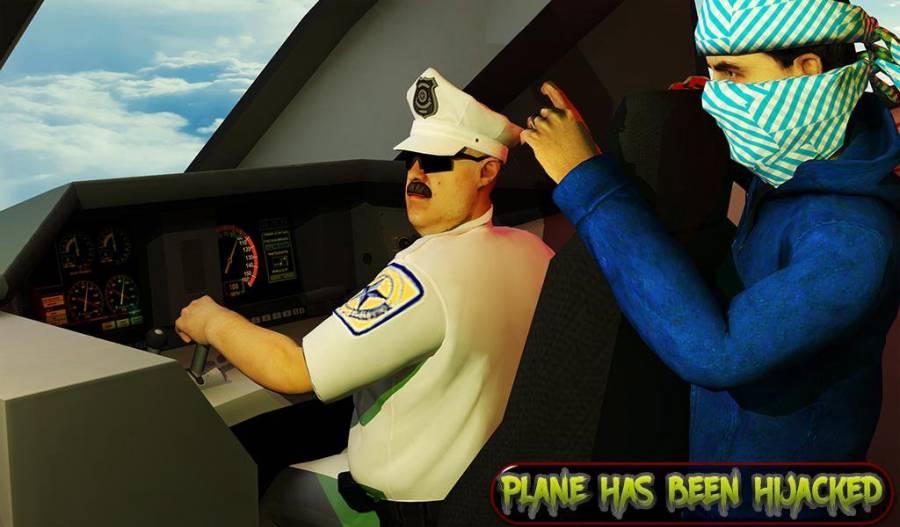 超级救援英雄:飞机劫持飞行行动截图2