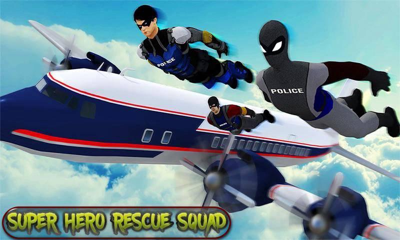 超级救援英雄:飞机劫持飞行行动截图3