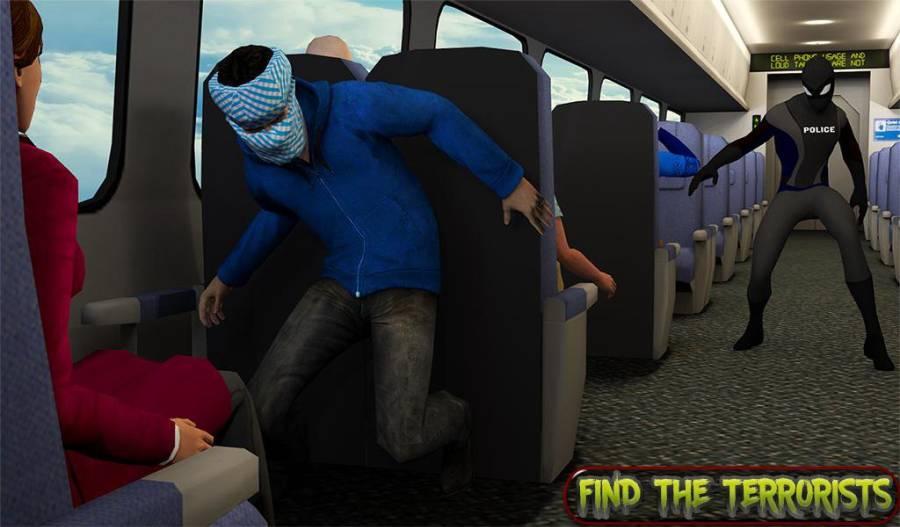 超级救援英雄:飞机劫持飞行行动截图4