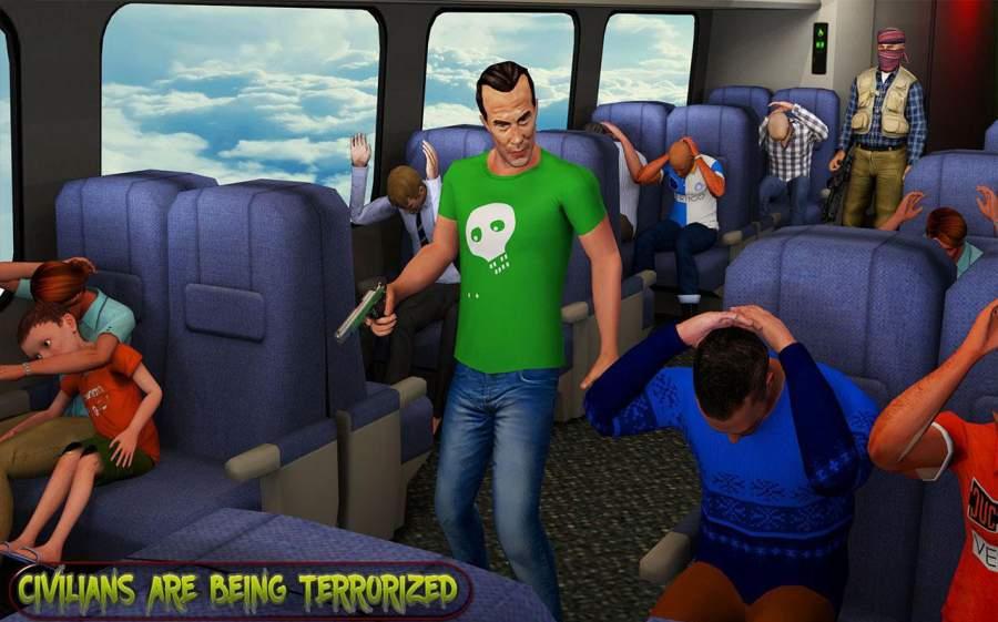 超级救援英雄:飞机劫持飞行行动截图6