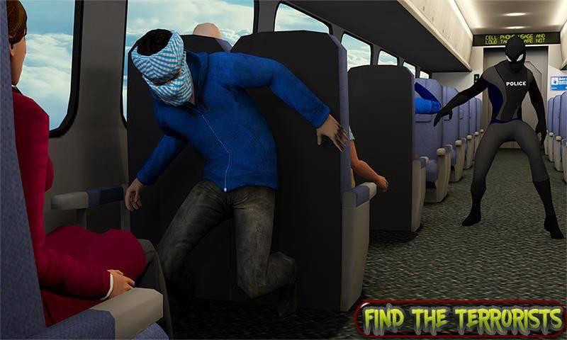 超级救援英雄:飞机劫持飞行行动截图7