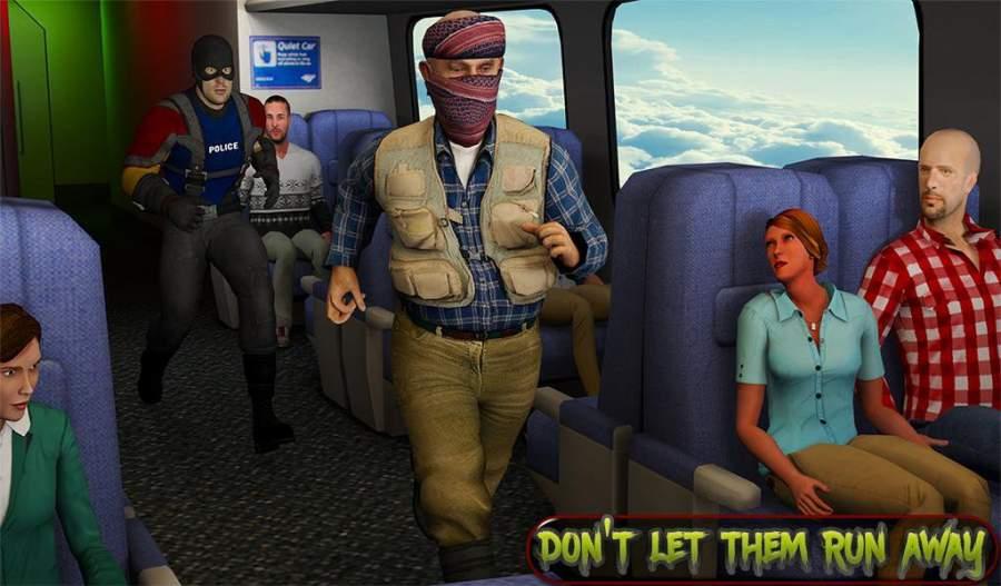 超级救援英雄:飞机劫持飞行行动截图9