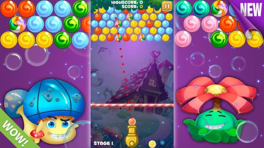 球疯狂 - 射击泡沫