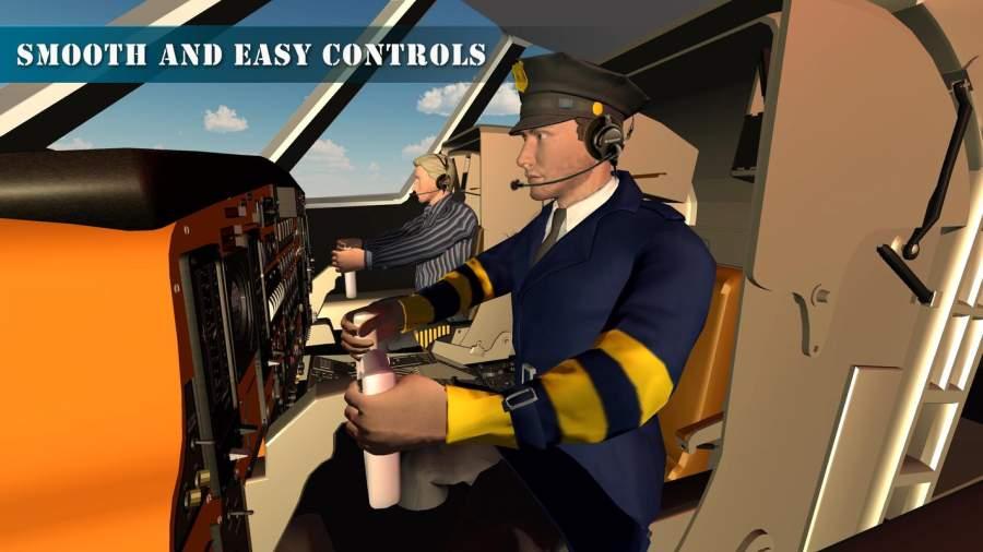 飞机试点训练学院飞行模拟器截图0