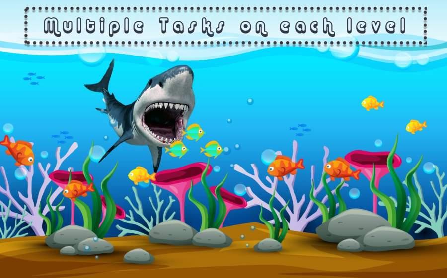 饲料 饥饿 鱼 捕食者 开玩笑 游戏截图2
