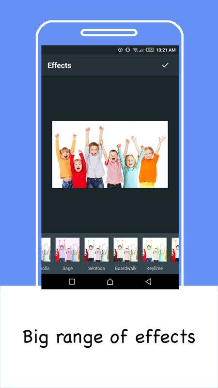 Pixol - Photo editor for selfie with DSLR effects截图1
