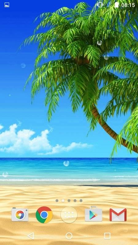 海滩动态壁纸