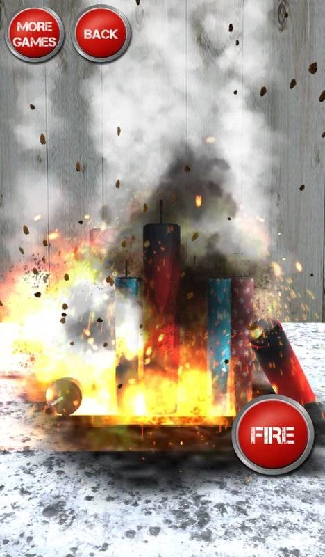 鞭炮模擬器泵和爆炸