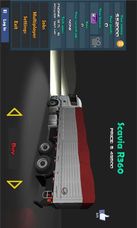 3D卡车驾驶模拟截图3