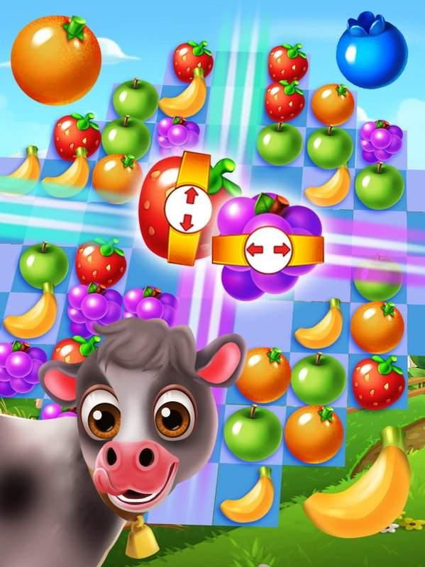 农场欢乐时光:水果飞溅截图1