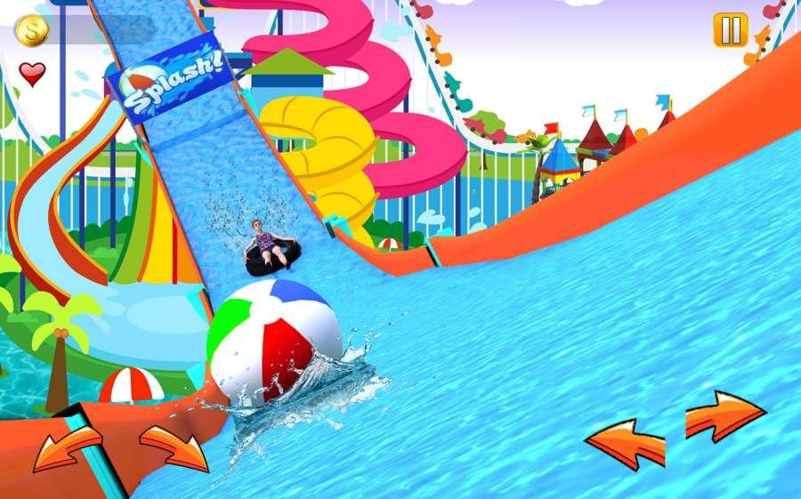 水幻灯片真实冒险3D骑