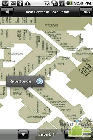 商场内的地图