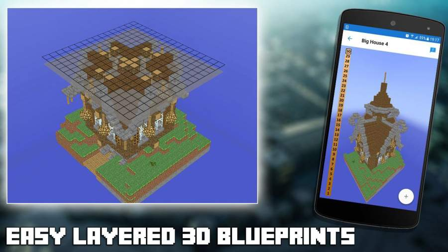 3D Blueprints for Minecraft截图0