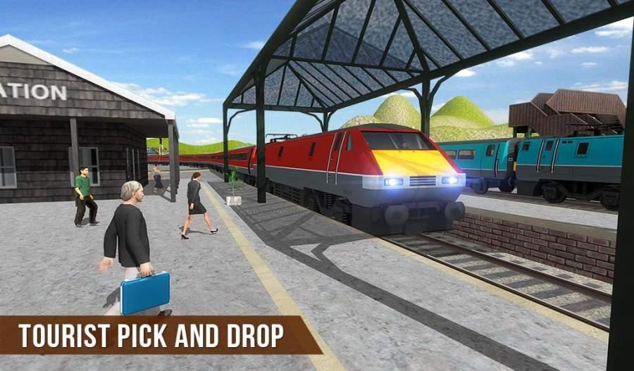 火车驾驶模拟器2017-欧速赛3D截图6