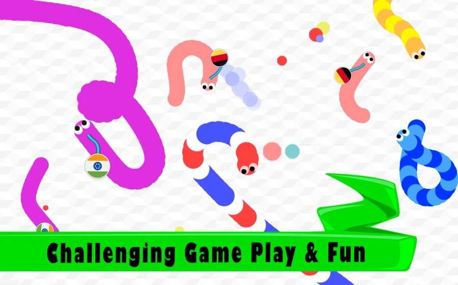 Snake Blitz io - Slither Game截图0