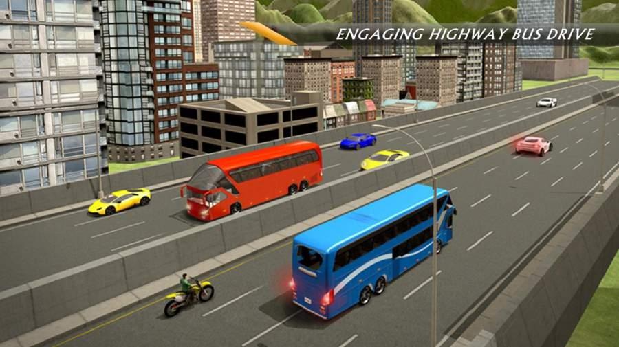 公路巴士模拟器2017-极限巴士驾驶截图1