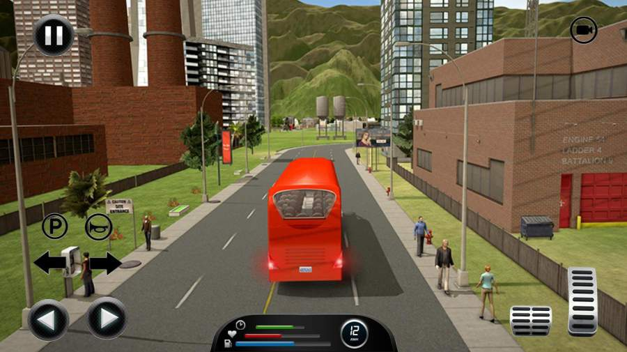 公路巴士模拟器2017-极限巴士驾驶截图2