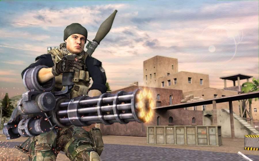 GUNNER GRAND WAR : CRITICAL FPS STRIKE MISSION截图0