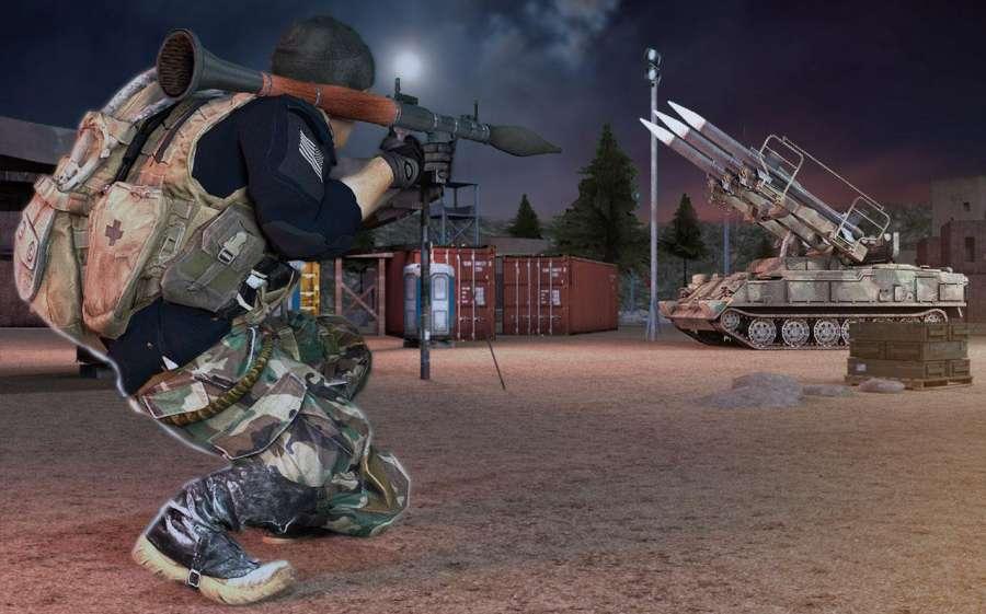 GUNNER GRAND WAR : CRITICAL FPS STRIKE MISSION截图1