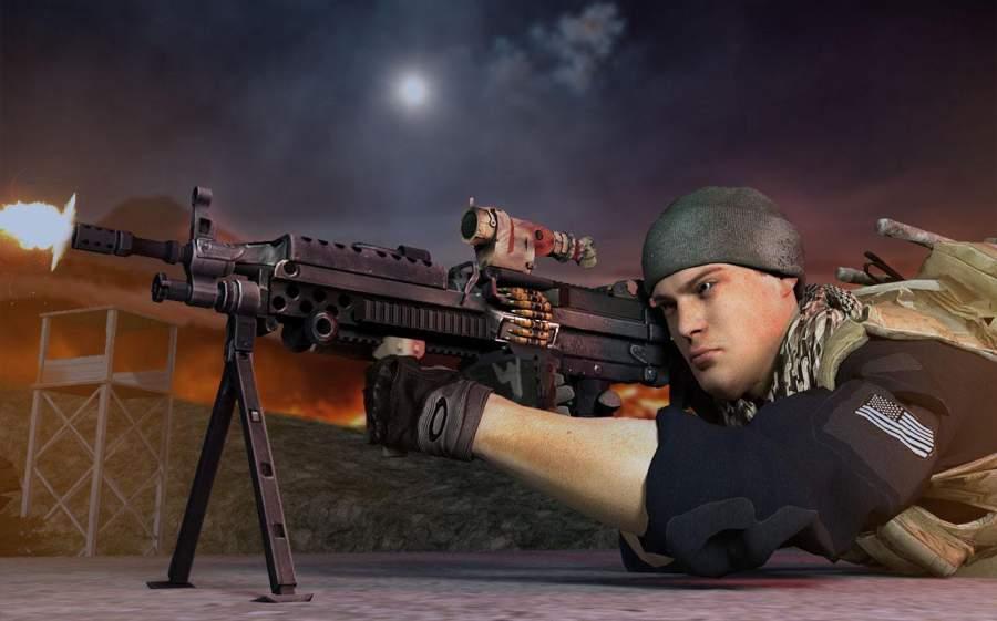 GUNNER GRAND WAR : CRITICAL FPS STRIKE MISSION截图2