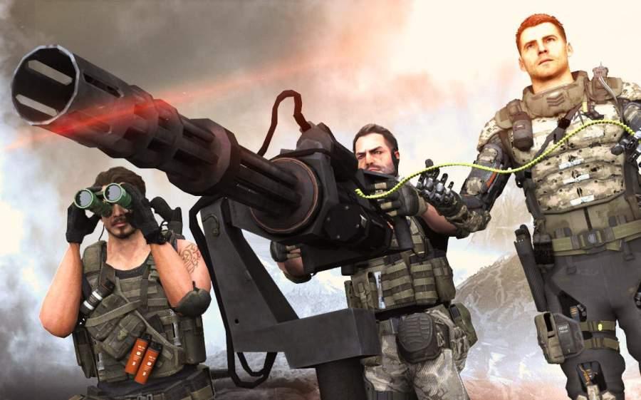 GUNNER GRAND WAR : CRITICAL FPS STRIKE MISSION截图3