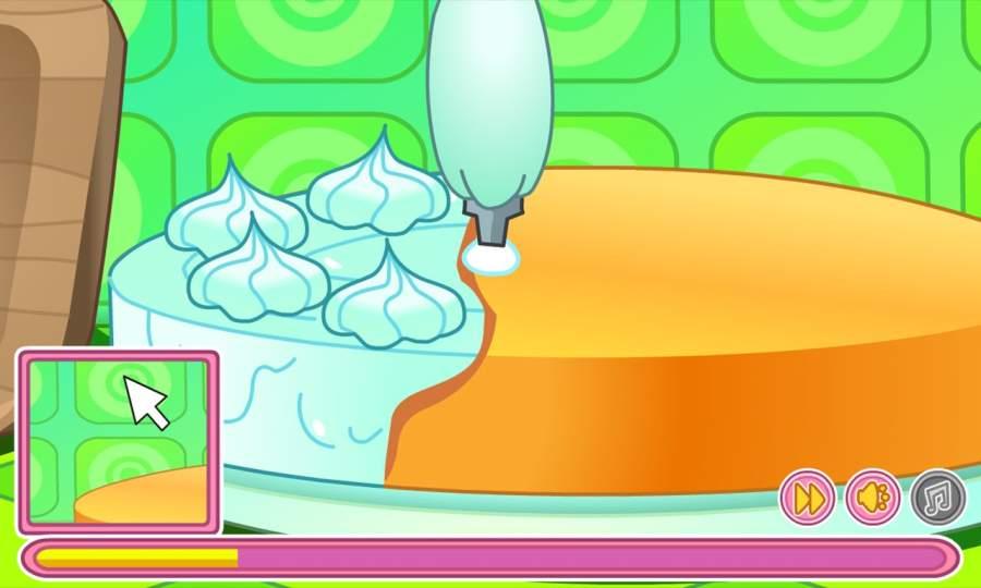 制作奶油生日蛋糕截图0