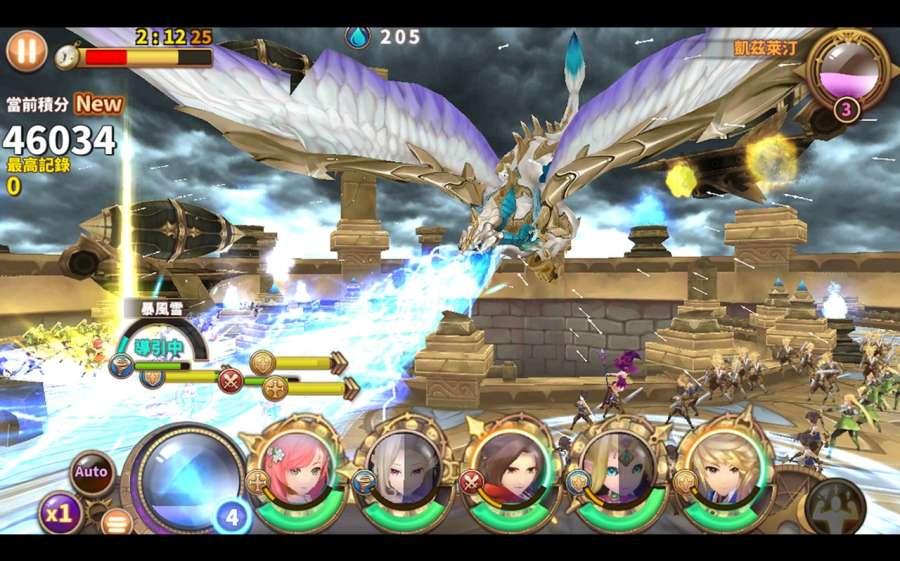 神殿戰記- 原創奇幻冒險RPG  伊蘇8合作活動進行中截图6