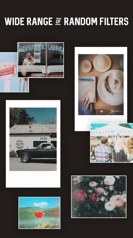 Polaroid, Instant Cam, Retro Cam - CandyFilm mini截图1