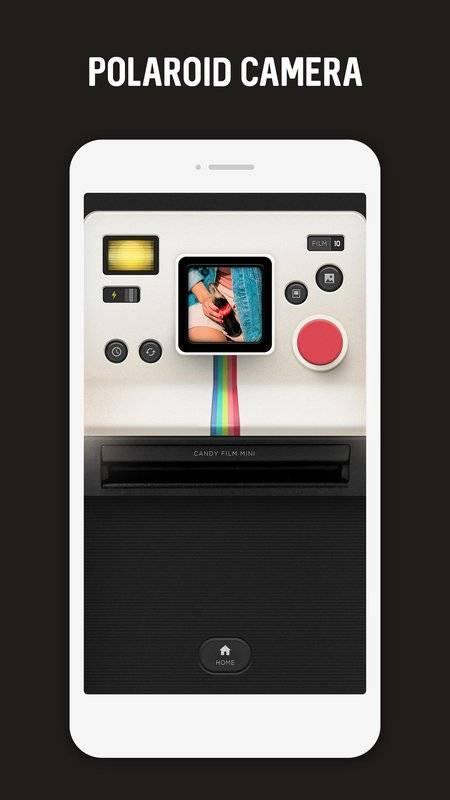 Polaroid, Instant Cam, Retro Cam - CandyFilm mini截图2