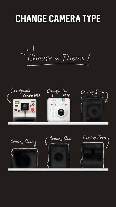 Polaroid, Instant Cam, Retro Cam - CandyFilm mini截图4