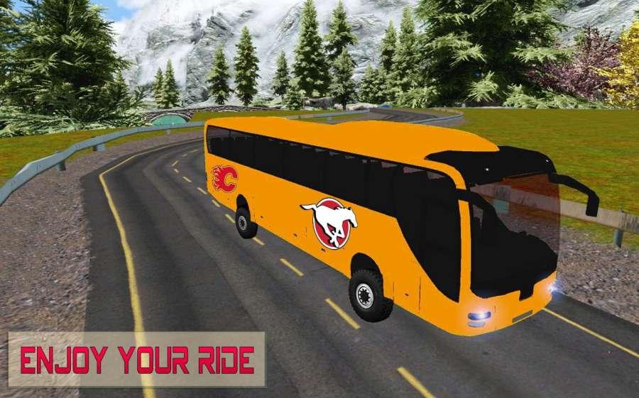 交通旅游纽约市公交车:城市道路模拟器截图1