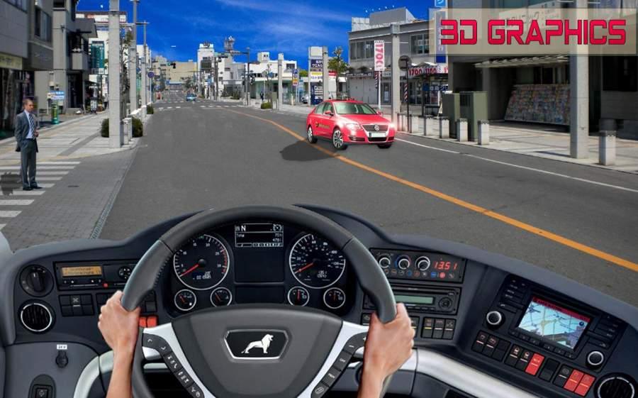 交通旅游纽约市公交车:城市道路模拟器截图3