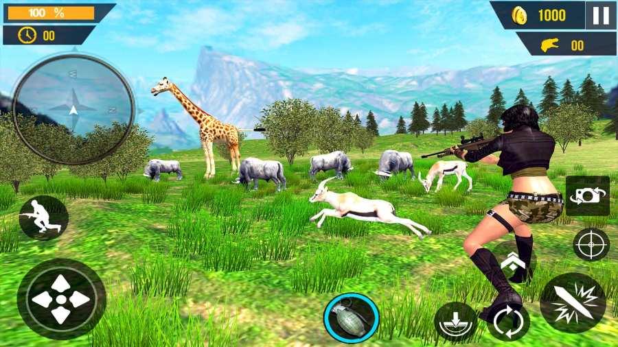动物狩猎3D截图2