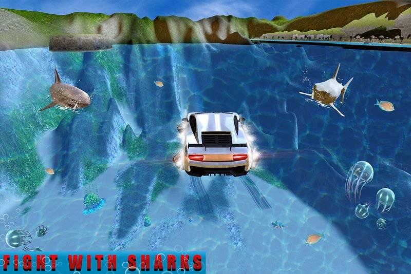 机器人车:饥饿的鲨鱼截图2