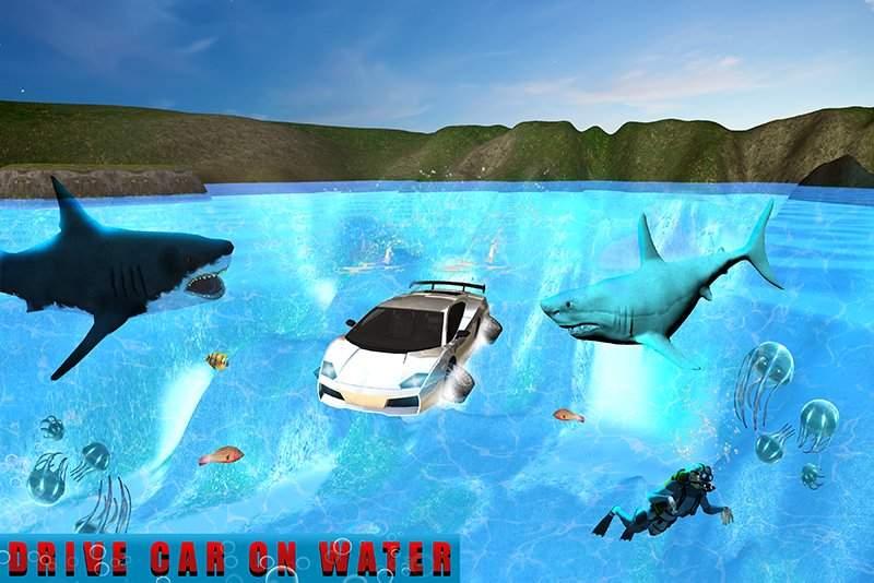 机器人车:饥饿的鲨鱼截图5
