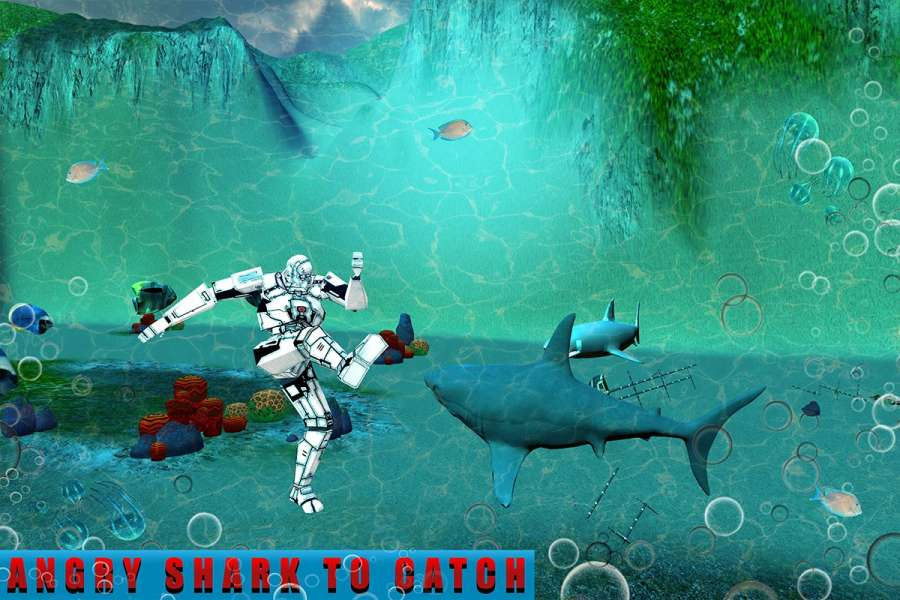 机器人车:饥饿的鲨鱼截图8