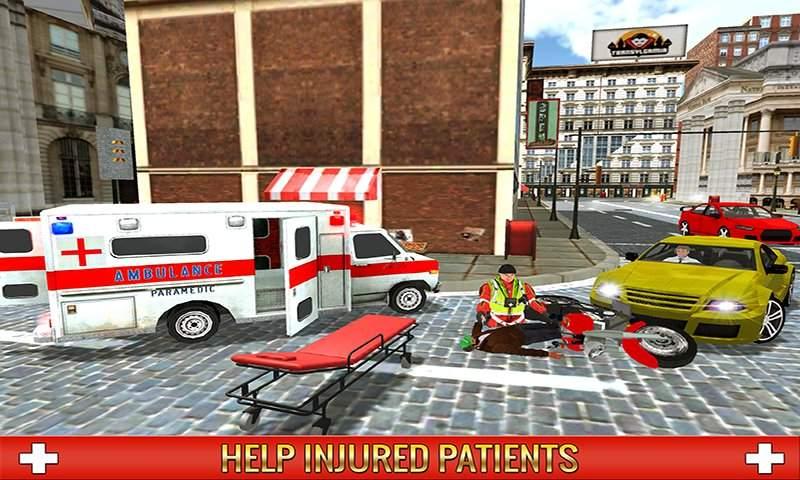 救护车司机模拟器2017截图0
