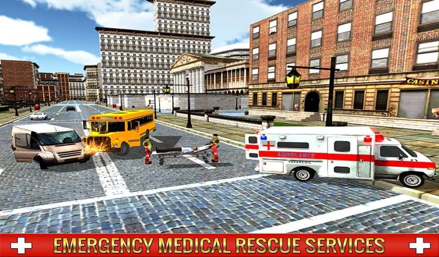 救护车司机模拟器2017截图3