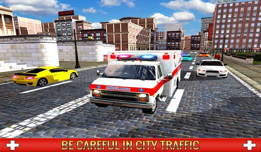救护车司机模拟器2017截图4