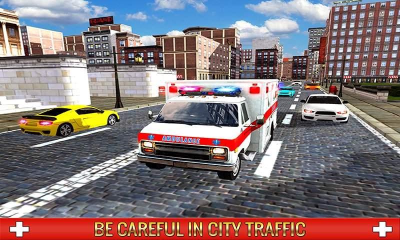 救护车司机模拟器2017截图5