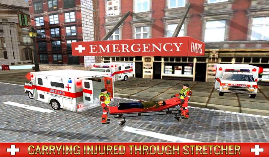 救护车司机模拟器2017截图7
