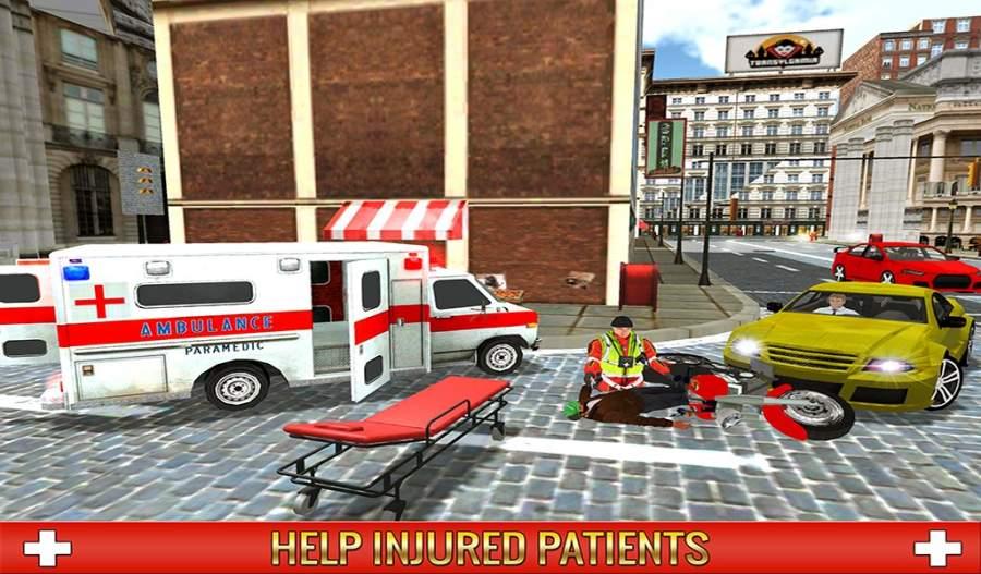 救护车司机模拟器2017截图9