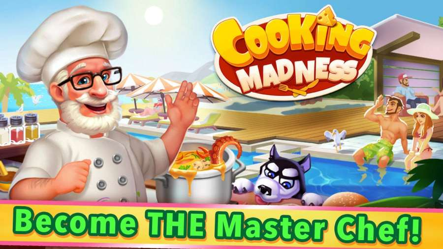Cooking Madness - A Chef's Restaurant Games截图0