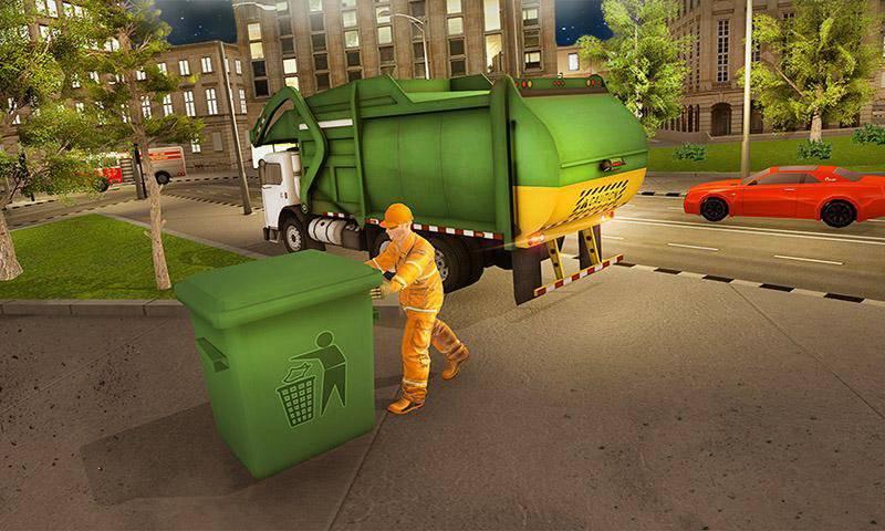 紧急救援现代城市:驾驶模拟器
